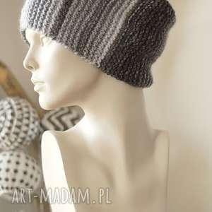 wyjątkowy prezent, czapki czapka multikolor no 7, czapka, kolorowa, wełniana