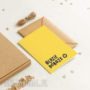 hand-made kartki ekologiczna kartka okolicznościowa urodzinowa / ślubna na pocieszenie