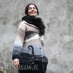 Sweter afrykański swetry kozaczka unikat, upominek, wełna