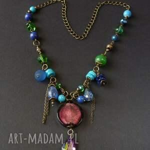 naszyjniki vintage style naszyjnik w duchu pięknej starej biżuterii oraz