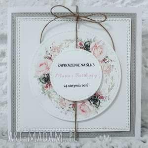spod igly maryski zaproszenia ślubne, zaproszenie, okazje, dekoracje, ślub