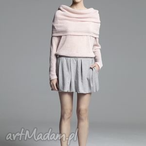 handmade swetry sweter chalette powder pink