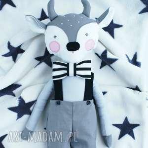 ręcznie robione maskotki lalka przytulanka koziołek