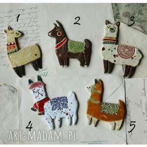 Magnesy z lamami do wyboru wylegarnia pomyslow ceramika, magnes,