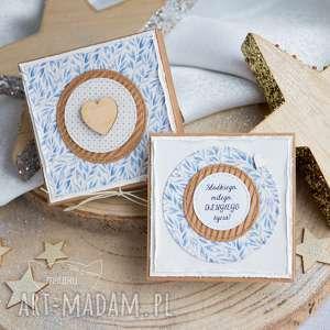 kartki pudełeczko z kartką pełne uczuć i słów na każdą okazję urocza