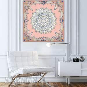 święta, mandala 50x50cm, mandala, mandale, plakat, obraz, ilustracje, sztuka