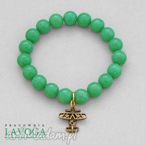 jade with pendant in emerald lavoga - zawieszka, samolot
