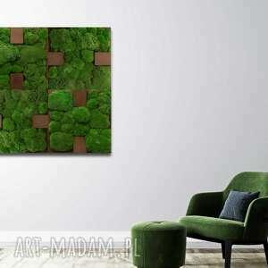 Dekoracja ścienna - obraz z mchem blink #41 ovo design dekoracja