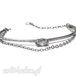 handmade bransoletki srebrny łuk vo. 3 - bransoletka