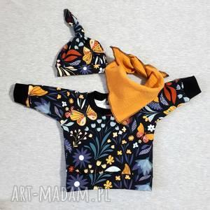 handmade bluza w kwiaty