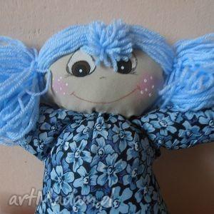 arletka w niebieskim komplecie, lalka, przytulanka, maskotka, doll lalki