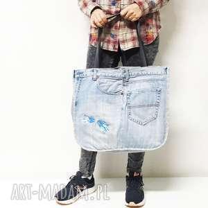 Duża torba Upcykling JEANS 15 Tommy Hilfiger, tommy-hilfiger, upcykling, jeans