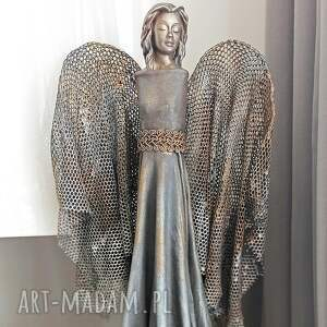 hand-made dekoracje anioł dostatku