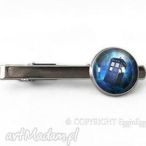 Tardis - Spinka do krawata - ,spinka,krawat,tardis,doctor,who,serialowa,