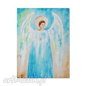 obrazy anioł arakiel , obraz ręcznie malowany, anioł, obraz, ręcznie