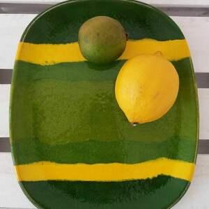 talerz na pyszności, ceramiczna, talerz, ceramiczny, kolorowy, dekoracyjny