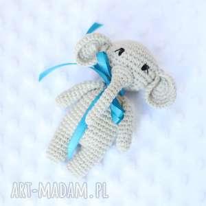 Słonik grzechotka zabawki lalalajshop słonik, słoniątko