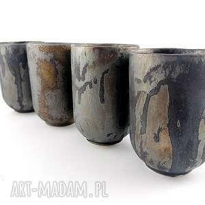 ceramika ceramiczne czarki - 4 szt, czarka, prezent, kawa, filiżanka, dekoracja