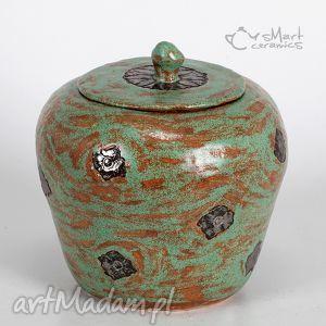 pojemnik ceramiczny orisa, ceramika, pojemnik, dekoracja, prezent, pod choinkę