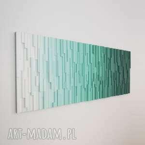 dekoracje mozaika drewniana, obraz drewniany 3d t1, loft, modern, kolor