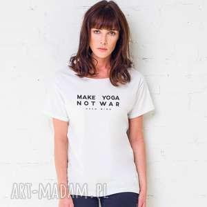 świąteczny prezent, make yoga t-shirt oversize