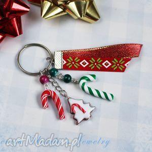 breloki świąteczny brelok cukierkowy, brelok, świąteczny, święta, christmas, piernik