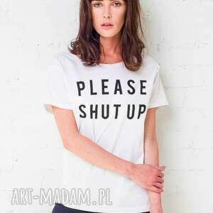 shut up oversize t-shirt, oversize, tshirt, koszulka, bawełna, casual, moda ubrania