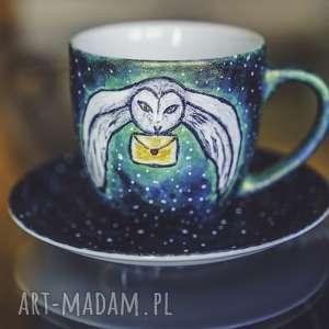 ceramika kubek sowa - harry potter magiczny idealny prezent