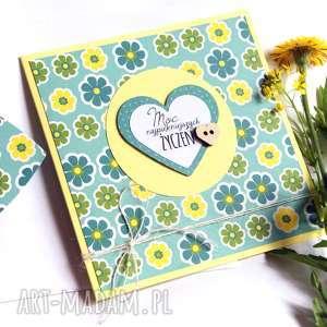 Moc najpiękniejszych życzeń:: kartka handmade kartki kaktusia