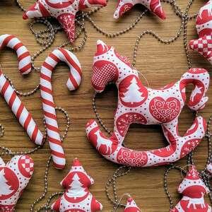 świąteczna dekoracja xxl na choinkę 20 sztuk - bożenarodzeniowe