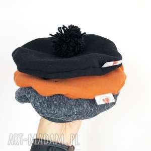 Beret/czapka w jesieni czarny , beret, czapka, beret-dla-dziecka, beret-jesienny