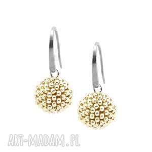 kolczyki glamour - classic silver stal szlachetna
