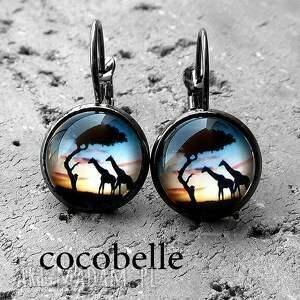 cocobelle sawanna - kolczyki z biglami, romantyczne, prezent dla niej
