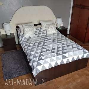 koce i narzuty #10 narzuta na łóżko patchwork vintage szarobiało