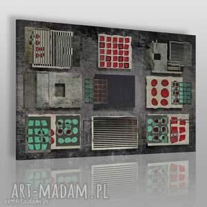 obraz na płótnie - abstrakcja nowoczesny 120x80 cm 43201 , obraz