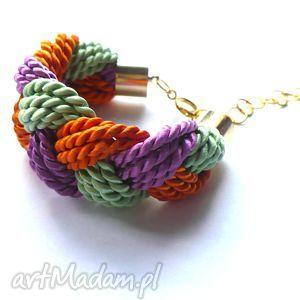 knot collection - juicy plait, warkocz, sznurki, energia