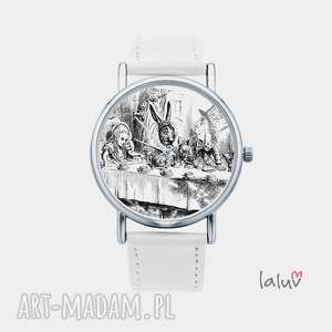 zegarki zegarek z grafiką herbatka kapelusznikiem, alicja, krainie, czarów