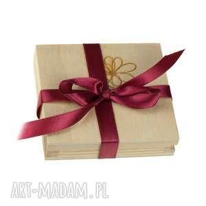 Prezent Dopłata - drewniane pudełko do wisiorów Herbarium Jewelry, drewniane-pudełko,