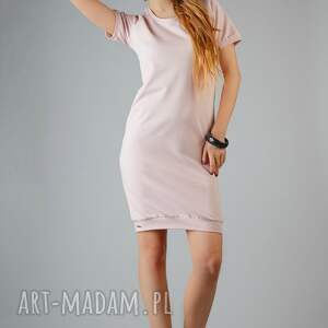 d8973be795 Sukienki różowe nietypowe. Sukienka różowa
