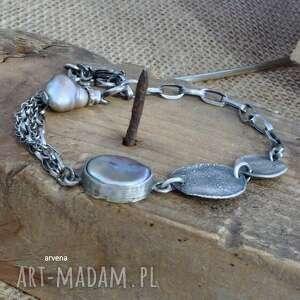 ręcznie wykonane perła - bransoletka 013