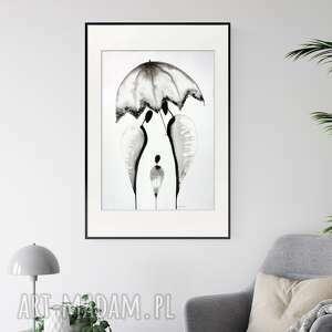 plakaty obraz ręcznie malowany 50x70 cm, abstrakcja kobieta, 2547127, obrazy