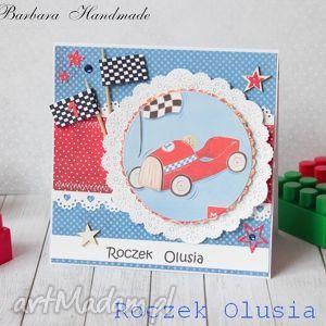 kartka na roczek-rez dla p magdy - auto, formuła1, chłopiec, kartka, roczek