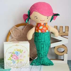 Syrenka - lalka 30 cm ewa lalki maly koziolek lalka, syrenka