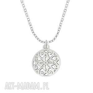 ręcznie wykonane naszyjniki celebrate - circle - necklace