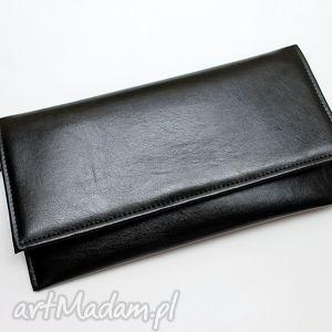 handmade kopertówka - czarna