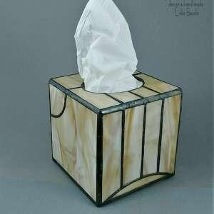 elegancki prezent na każda okazję pudełko chusteczki artdeco chustecznik