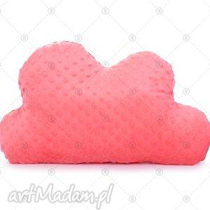 hand-made pokoik dziecka koralowa chmurka minky makaszka