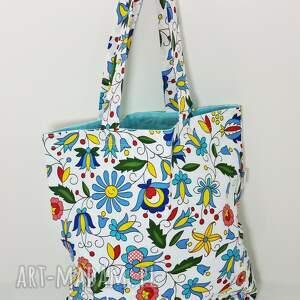 na zakupy torba ekologiczna shopperka kaszubska, torba, torba-na-zakupy