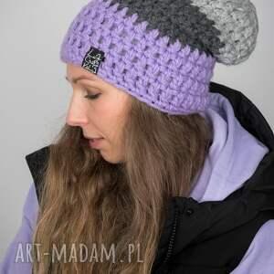 laczapakabra czapka triquence 31 - jasna fioletowa, czapa, na zimę