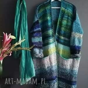 handmade swetry muleikolor sweter -polarna zorza